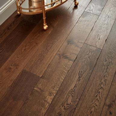 Chepstow Distressed Charcoal Oak
