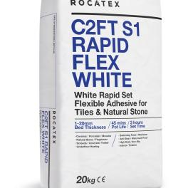 Flexible Adhesive White Rapidset