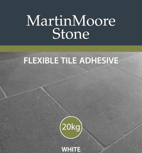 Flexible White Rapidset Adhesive Martin Moore Stone